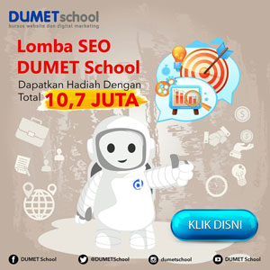 Kursus Desain Grafis Internet Marketing & Website DUMET School