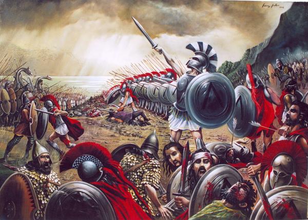 Σε τρείς ημέρες ο Βασιλιάς Λεωνίδας και οι 300, ανέστησαν την Ελλάδα