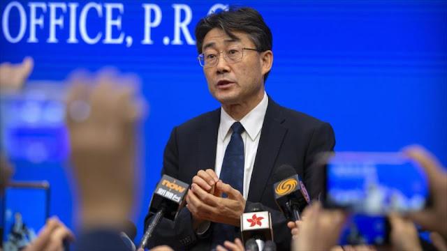 Jefe médico chino revela haber recibido vacuna contra coronavirus