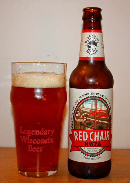 red chair nwpa abv deck glides nick s beer blog deschutes review name style american pale ale 6 2