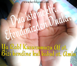 Efendimizden dualar