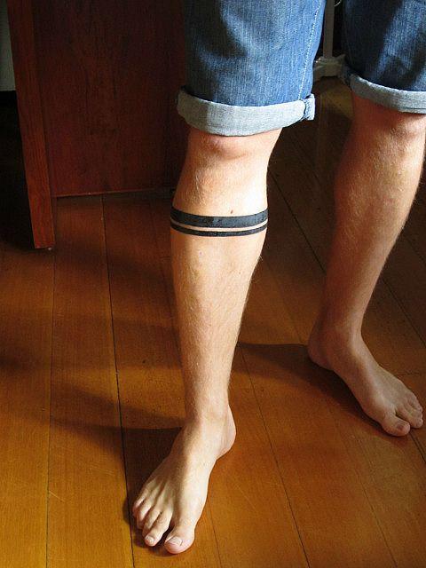 Tatuagem Masculina Listrado