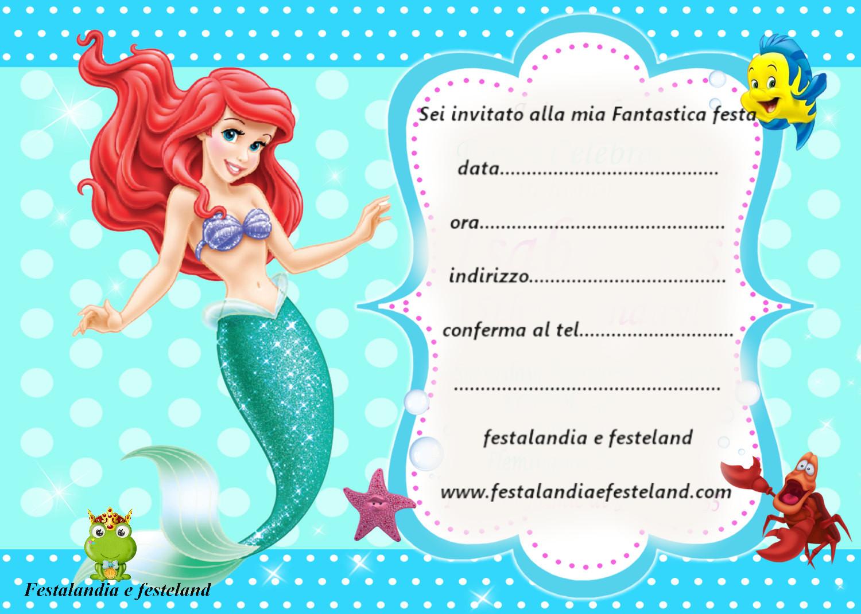 Festalandia e Festeland: bigliettini d'invito per feste A TEMA