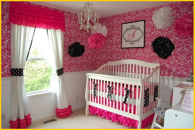 Baby Room Paint Ideas Girl And Boy Wall Painting