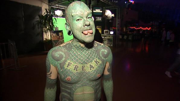 Paranormal And Strange World: Lizard Man\\Erik Sprague ...