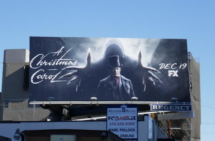 A Christmas Carol FX billboard