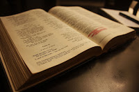 Versículos sobre a Bíblia.