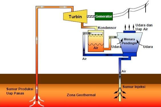 Uap Di Supply Dari Sumur Produksi Melalui Sistem Transmisi Uap Yang Kemudian Masuk Ke Dalam Steam Receiving Header Sebagai Media Pengumpul Uap