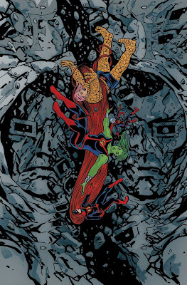 FF issue 7 cover art by Mike Allred