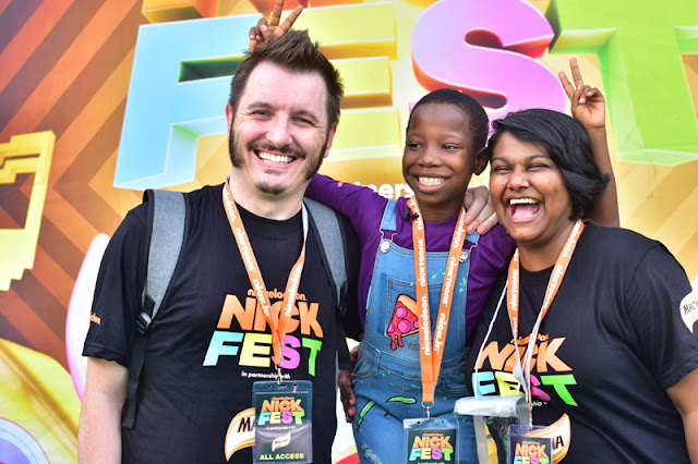 Photos: Spongebob, Dora, Shimmer & Shine, Paw Patrol, The teenage Mutant Ninja Turtles, Yemi Alade, Mr Eazi & more at NickFest