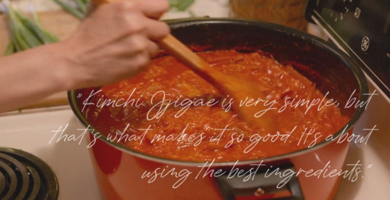 Kimchi Jjigae quote from Always Be My Maybe