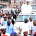 See Photos Of Rauf Aregbesola Acknowledging Cheers From Muslims After Eld Prayers Today