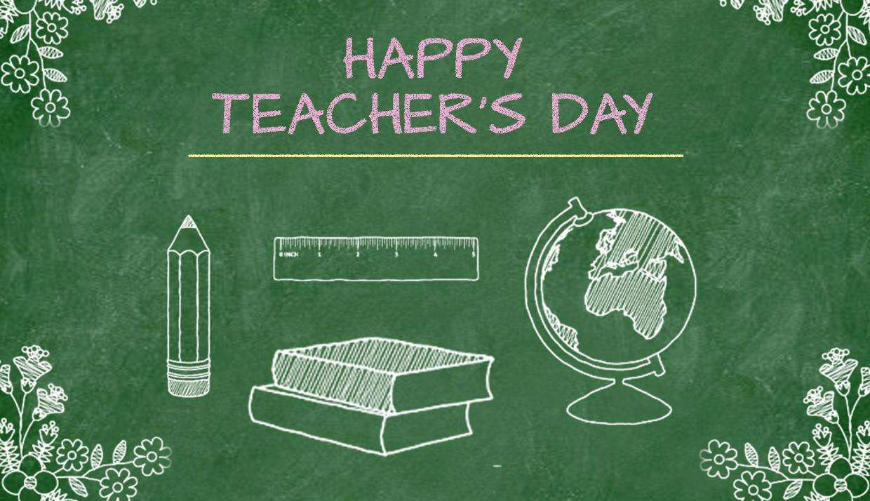National Teacher Day Wishes Beautiful Image