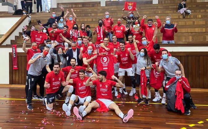 Benfica Campeão Nacional de Voleibol 2020/21