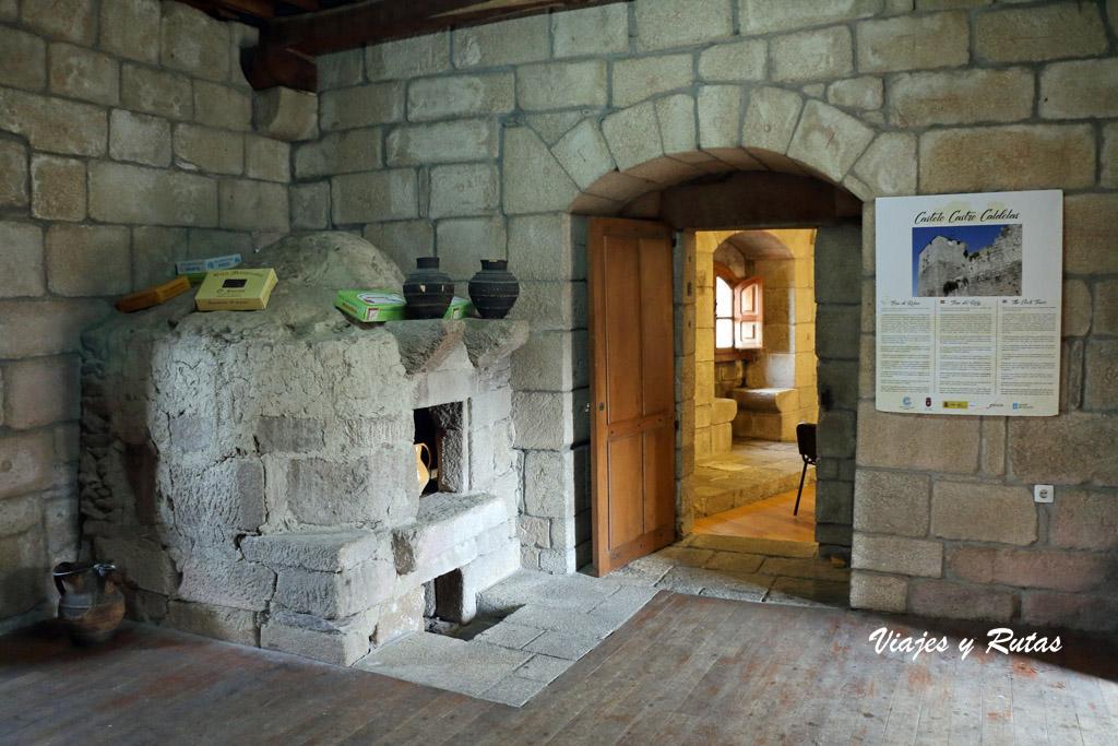 Horno del castillo de Castro Caldelas