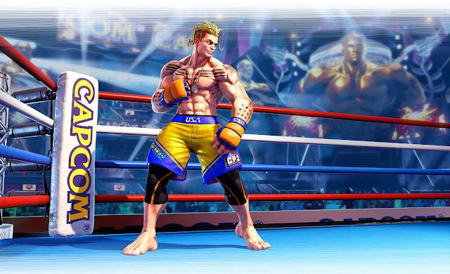 Anunciado el último personaje para Street Fighter V - Luke