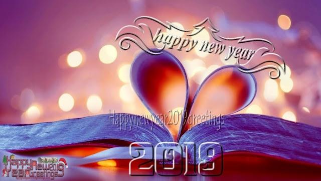 New Year 2019 HD Love Greetings
