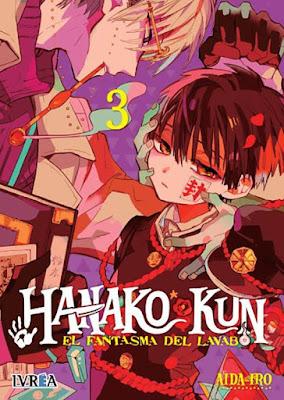 Review del manga Hanako-kun, el fantasma del lavabo Vol.2 y 3 de Aida Iro - Ivrea