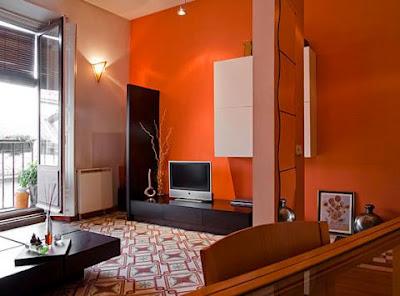 Decora el hogar pintar las paredes con colores vivos - Colores de pinturas para salones ...