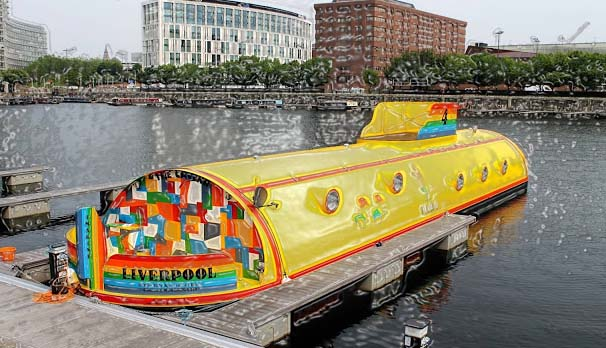 Beatles enthusiasts who are now willing a jam-packed experience of Beatles can do so by booking their housings in the weird floating hotel in the anchorage of Albert's dock that resembles the yellow submarine of their record's cover page.