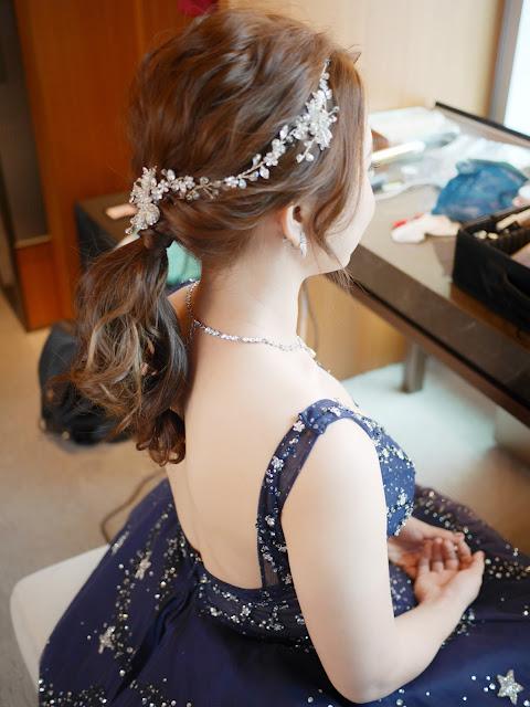 台北新秘 | 新秘推薦 | 台北新娘秘書 | 白紗造型2018 | 敬酒造型2018 | 新娘造型2018 | 低馬尾造型