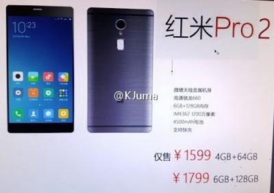 Harga Resmi Xiaomi Redmi Pro 2