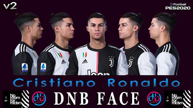 PES 2020 Cristiano Ronaldo Face by DNB