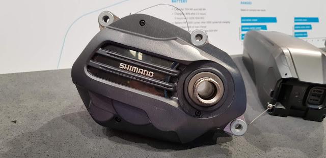 Für leichte Touren mit weniger Kraft aber mehr Reichweite als der E8000: der Shimano E7000.