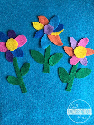 flower activity for kids