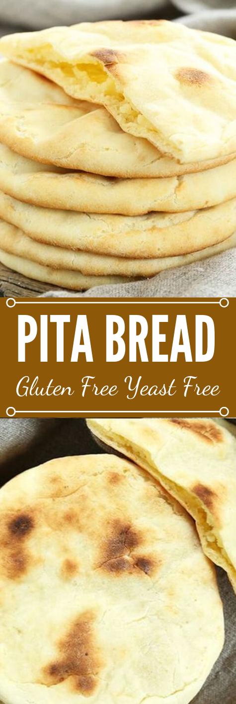 Gluten Free Pita Bread #diet #glutenfree #healthyrecipes #easy #food