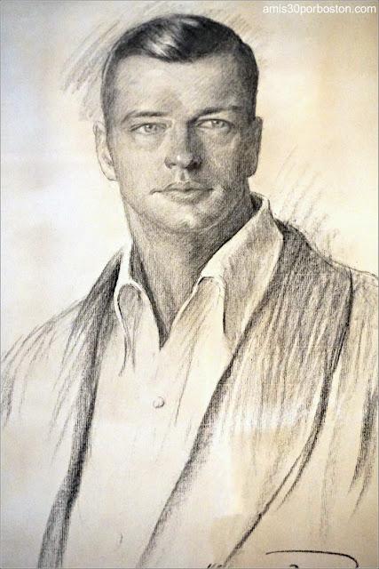 Retrato de William K. Vanderbilt Jr. en Marble House, Newport