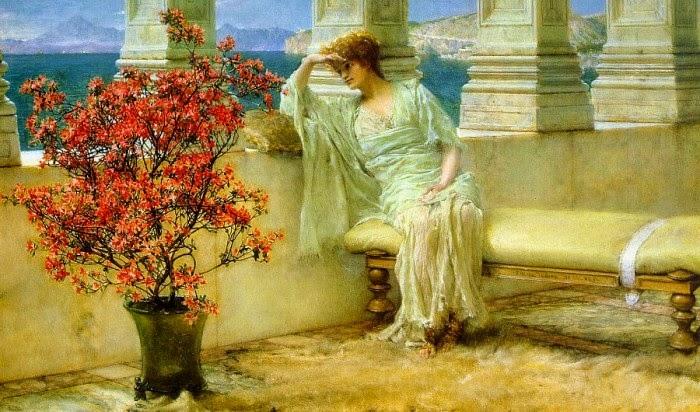 Pensando - As mais belas pinturas de Lawrence Alma-Tadema - (Neoclassicismo)