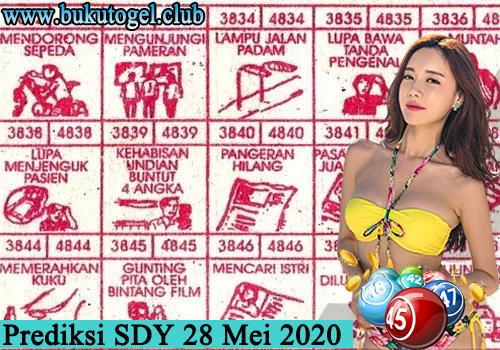 Prediksi Togel SDY Kamis 28 Mei 2020