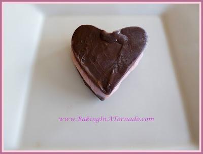 Dark Chocolate Raspberry Fudge | recipe developed by www.BakingInATornado.com | #recipe #dessert