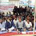 गिद्धौर में ग्रामीणों ने सड़क निर्माण को लेकर दिया एकदिवसीय धरना