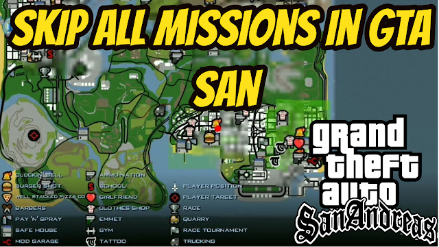 gta san andreas all missions download pc
