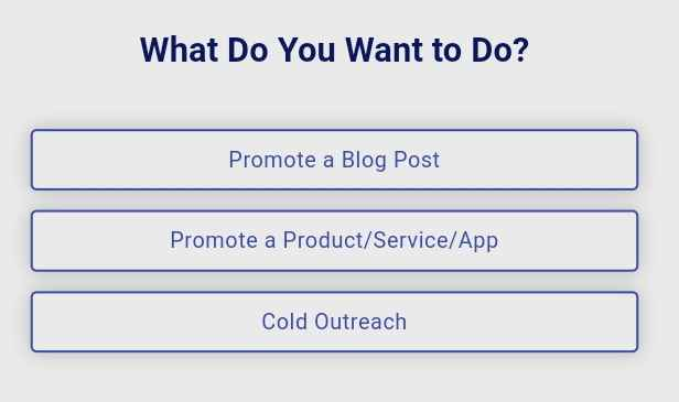 Promote A Blog Post