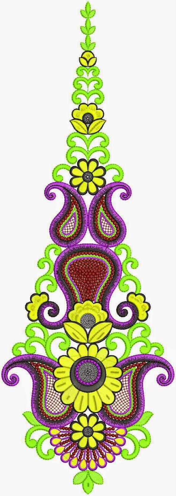 Embdesigntube Designer Suits Kali Embroidery Designs