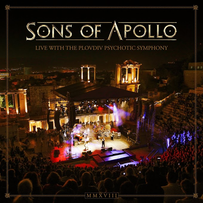 Recensione: Sons Of Apollo – Live With The Plovdiv Psychotic Symphony (2019)
