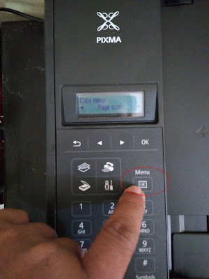 Cara Terbaru Reset Printer Canon MX497