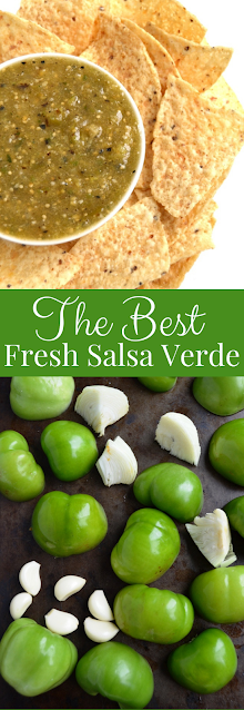 The Best Fresh Salsa Verde