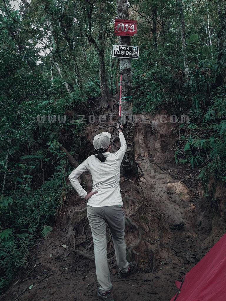 POS 4 Gunung Burangrang via Legok Haji