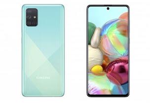 Samsung Galaxy A51 Versi RAM 8 GB Dijual di Indonesia 16 Maret.
