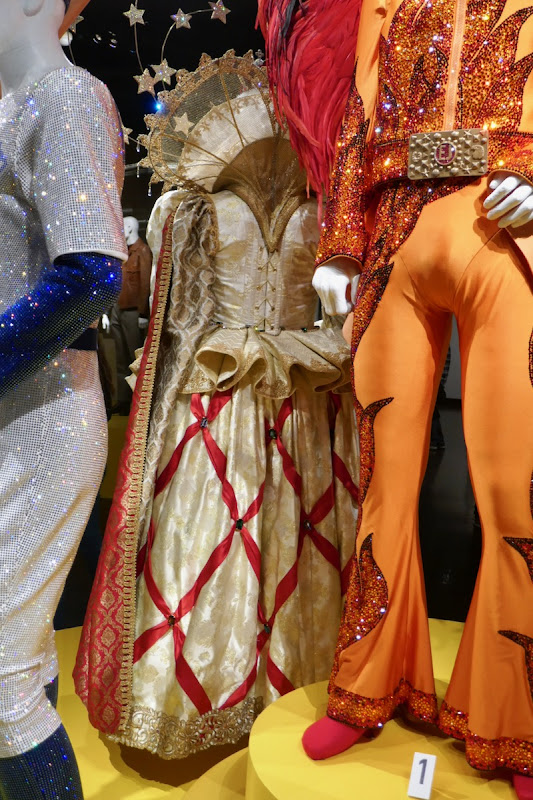 Rocketman Queen Elizabeth I costume back