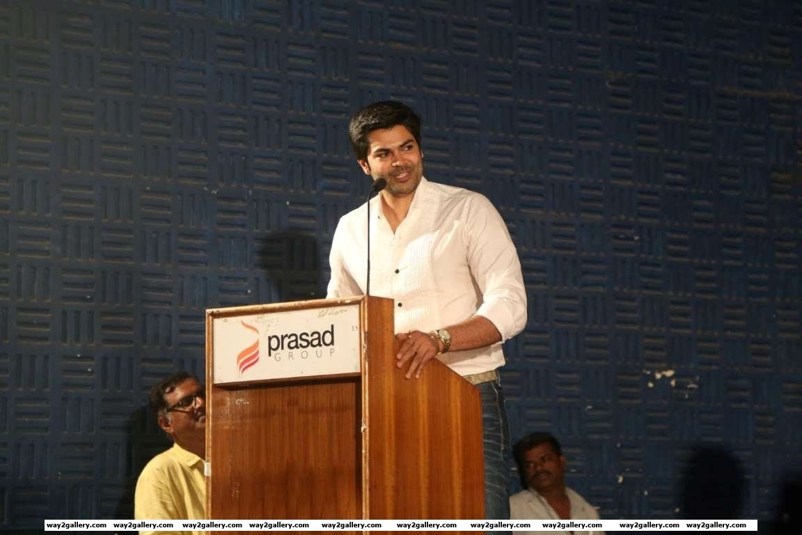 Our shutterbug caught Ganesh Venkatraman at the launch of Tamil film  Naatkal