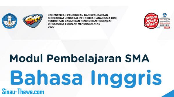 E Modul Sma Mapel Bahasa Inggris Kelas Xii Tahun 2020 2021 Sinau Thewe Com
