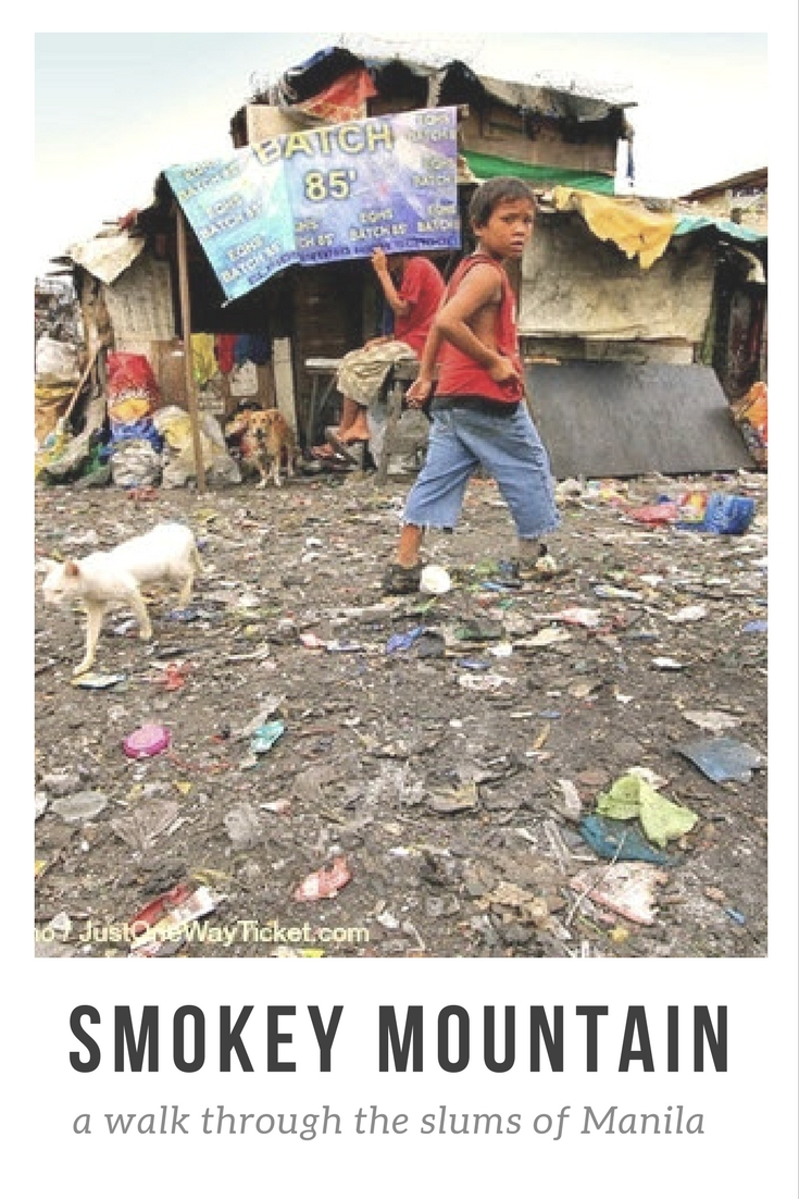 smokey mountain philippines travel tips manila slums