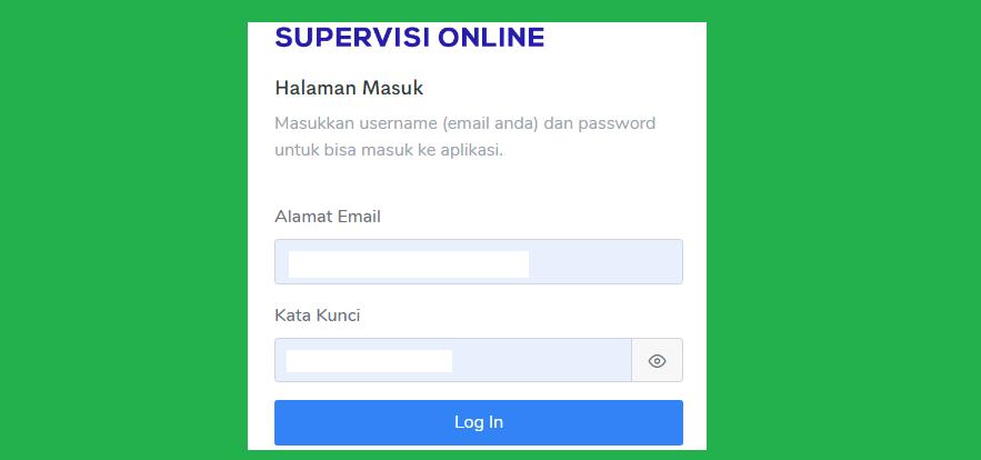 Panduan atau Juknis Pengisian Aplikasi E-Supervisi Direktorat SMP Kemdendikbud