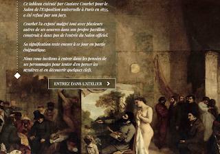 entrez dans l atelier Courbet