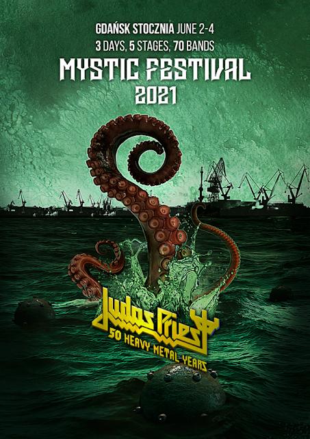 Judas Priest zagra na Mystic Festival 2021